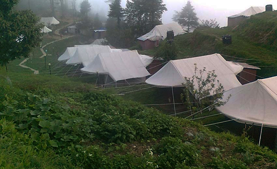 Camps near mussoorie